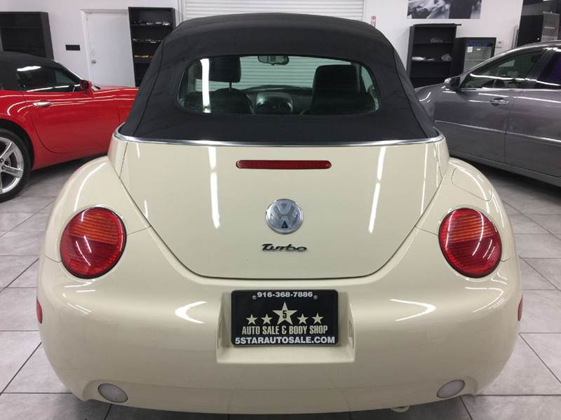 2004 Volkswagen New Beetle 2dr GLS 1.8T Turbo Convertible - Rancho Cordova CA