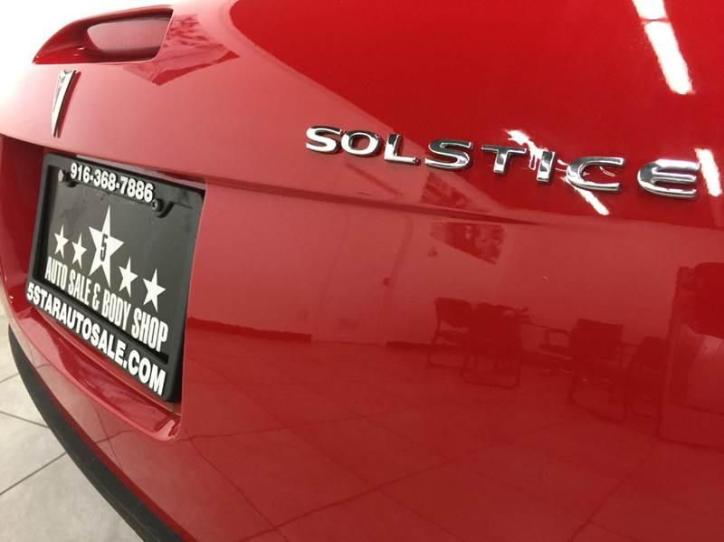 2006 Pontiac Solstice 2dr Convertible - Rancho Cordova CA
