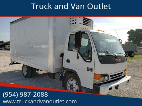 2005 GMC W4500 for sale in Hollywood, FL