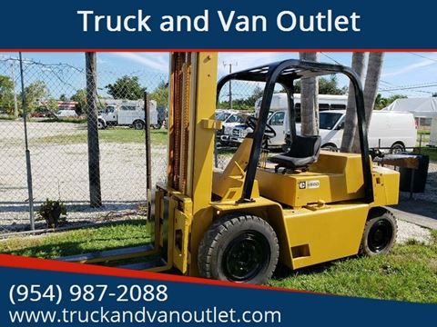 1990 Caterpillar V80D for sale in Hollywood, FL