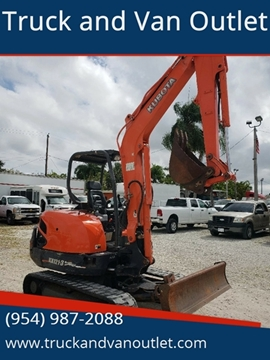 2012 Kubota KX121-3 for sale in Hollywood, FL