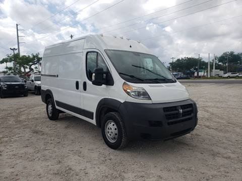 2014 RAM ProMaster Cargo for sale in Hollywood, FL