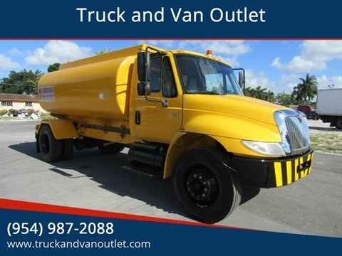 2007 International DuraStar 4200 for sale in Hollywood, FL