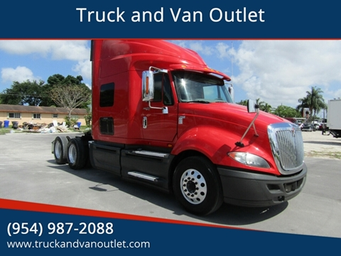 2013 International ProStar for sale in Hollywood, FL