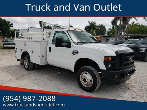 2008 Ford F-350 Super Duty for sale in Hollywood, FL