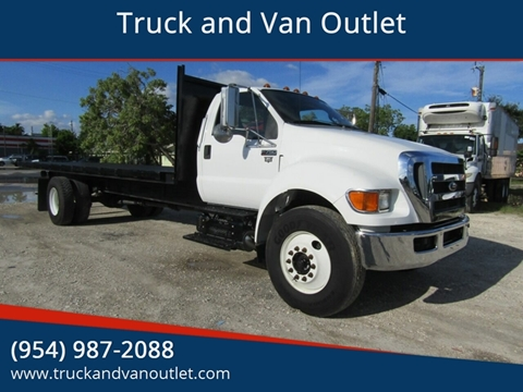 2015 Ford F-750 Super Duty for sale in Hollywood, FL