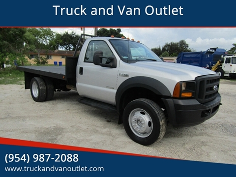 2006 Ford F-550 Super Duty for sale in Hollywood, FL