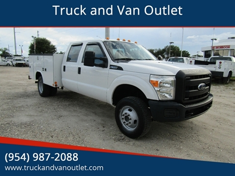 2015 Ford F-350 Super Duty for sale in Hollywood, FL