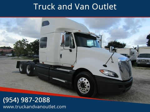 2014 International ProStar+ for sale in Hollywood, FL