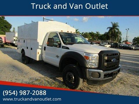 2015 Ford F-450 Super Duty for sale in Hollywood, FL