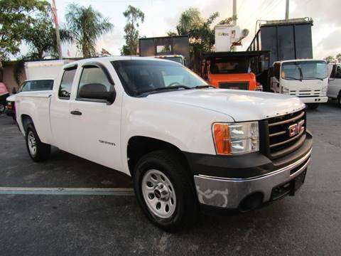 2013 GMC Sierra 1500 for sale at Truck and Van Outlet in Hollywood FL