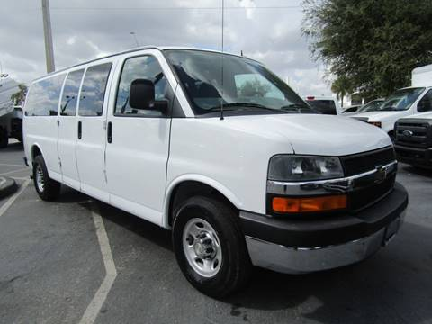2013 Chevrolet Express Passenger for sale at Truck and Van Outlet - Miami in Miami FL