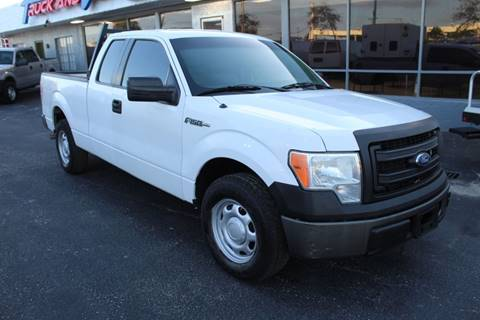 2013 Ford F-150 for sale at Truck and Van Outlet in Hollywood FL