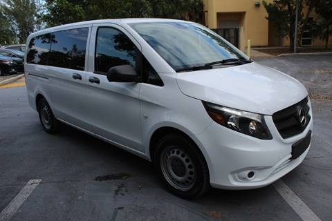 2017 Mercedes-Benz Metris for sale at Truck and Van Outlet in Hollywood FL