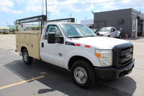 2013 Ford F-250 Super Duty for sale at Truck and Van Outlet - Miami in Miami FL