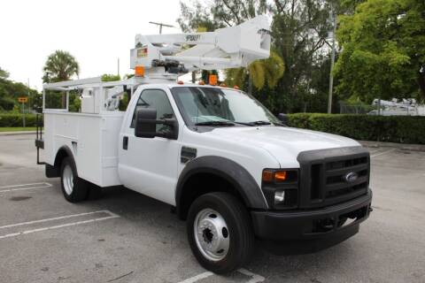 2008 Ford F-450 Super Duty for sale at Truck and Van Outlet - Miami in Miami FL