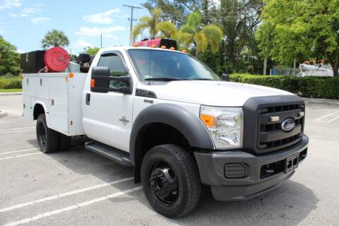 2012 Ford F-450 Super Duty for sale at Truck and Van Outlet - Miami in Miami FL