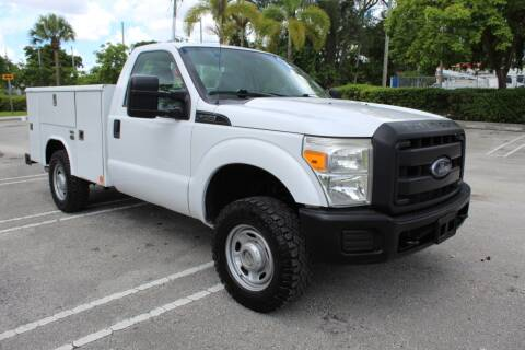 2013 Ford F-250 Super Duty for sale at Truck and Van Outlet in Hollywood FL