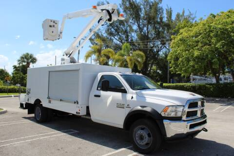 2015 RAM Ram Chassis 5500 for sale at Truck and Van Outlet - Miami in Miami FL