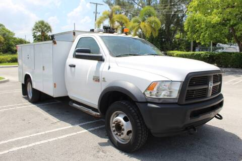 2012 RAM Ram Chassis 5500 for sale at Truck and Van Outlet - Miami in Miami FL
