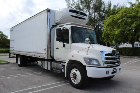 2015 Hino 338 for sale at Truck and Van Outlet in Hollywood FL