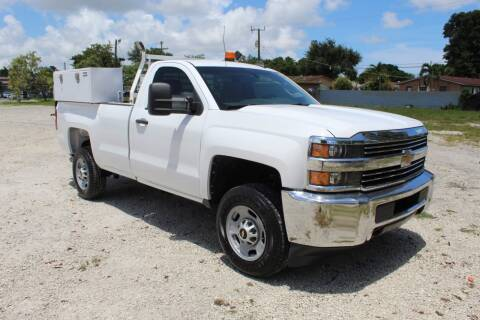2015 Chevrolet Silverado 2500HD for sale at Truck and Van Outlet - Miami in Miami FL