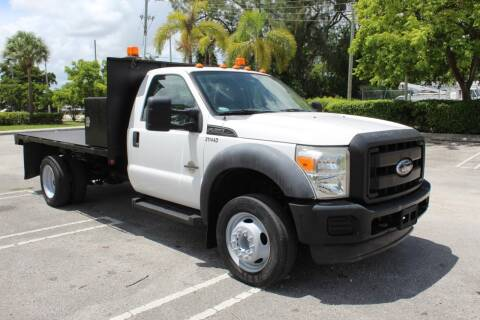 2011 Ford F-450 Super Duty for sale at Truck and Van Outlet - Miami in Miami FL