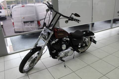 2012 Harley-Davidson Sportster 1200 CC for sale at Truck and Van Outlet - Miami in Miami FL