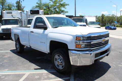 2016 Chevrolet Silverado 2500HD for sale at Truck and Van Outlet in Hollywood FL