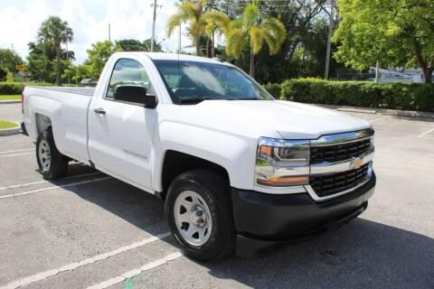 2016 Chevrolet Silverado 1500 for sale at Truck and Van Outlet - Miami in Miami FL