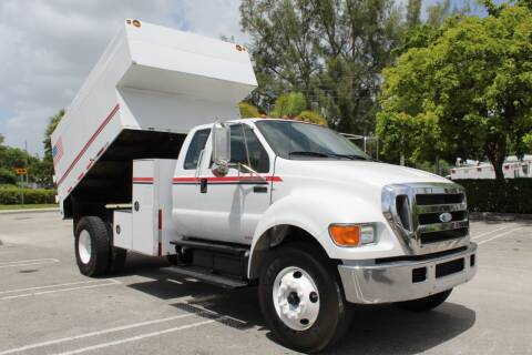 2007 Ford F-750 Super Duty for sale at Truck and Van Outlet - Miami in Miami FL