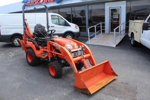 2016 Kubota BX25 for sale at Truck and Van Outlet - Miami in Miami FL