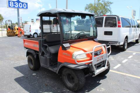 2010 Kubota RTV900 for sale at Truck and Van Outlet - Miami in Miami FL