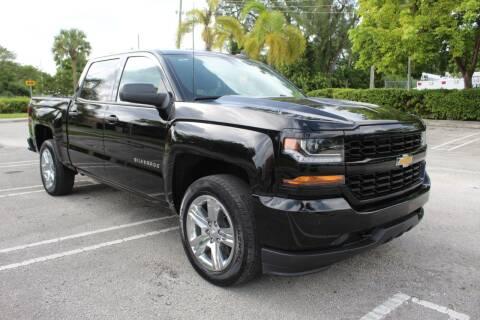 2018 Chevrolet Silverado 1500 for sale at Truck and Van Outlet - Miami in Miami FL