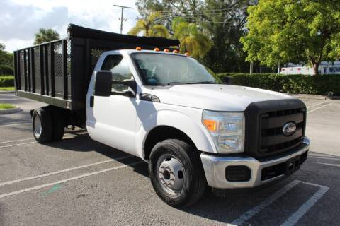 2011 Ford F-350 Super Duty for sale at Truck and Van Outlet - Miami in Miami FL