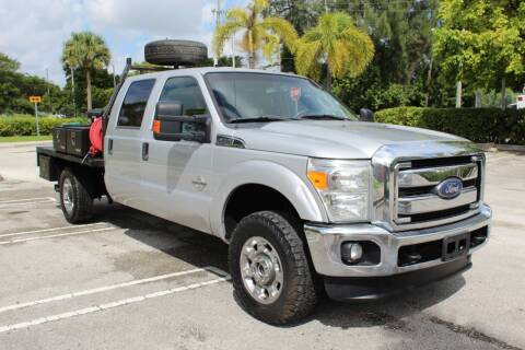 2014 Ford F-350 Super Duty for sale at Truck and Van Outlet in Hollywood FL