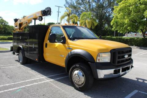 2006 Ford F-550 Super Duty for sale at Truck and Van Outlet - Miami in Miami FL