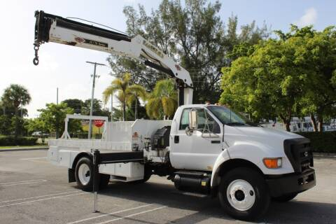 2006 Ford F-750 Super Duty for sale at Truck and Van Outlet - Miami in Miami FL