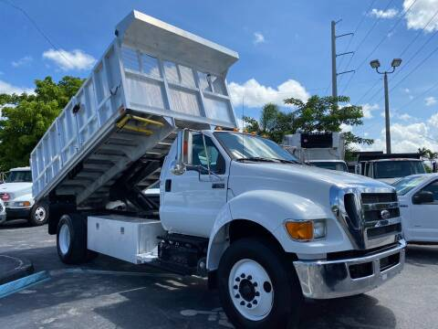 2015 Ford F-750 Super Duty for sale at Truck and Van Outlet in Hollywood FL