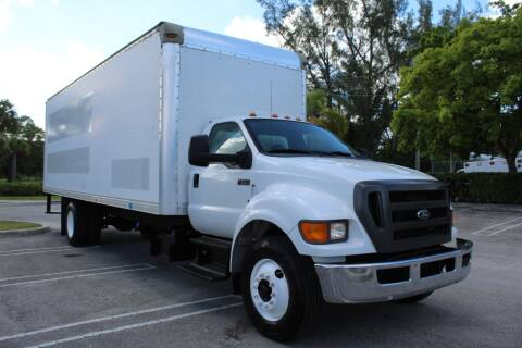 2012 Ford F-750 Super Duty for sale at Truck and Van Outlet in Hollywood FL