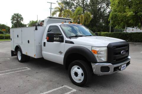 2014 Ford F-550 Super Duty for sale at Truck and Van Outlet in Hollywood FL