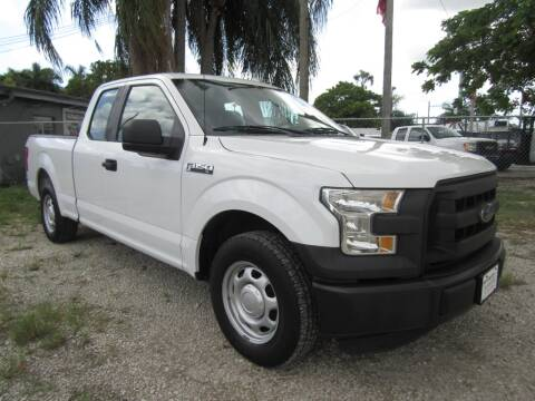 2016 Ford F-150 for sale at Truck and Van Outlet - Miami in Miami FL