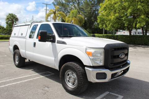 2012 Ford F-250 Super Duty for sale at Truck and Van Outlet - Miami in Miami FL