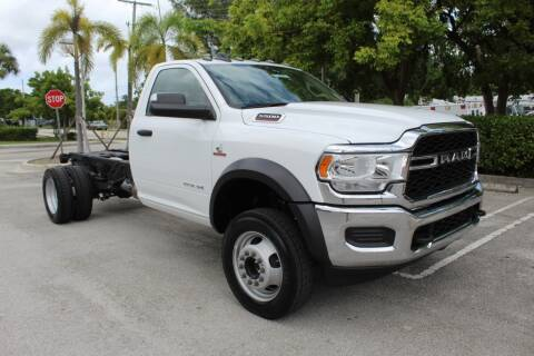 2019 RAM Ram Chassis 5500 for sale at Truck and Van Outlet - Miami in Miami FL