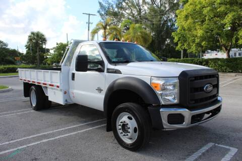 2012 Ford F-550 Super Duty for sale at Truck and Van Outlet - Miami in Miami FL