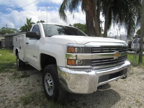 2015 Chevrolet Silverado 2500HD for sale at Truck and Van Outlet in Hollywood FL