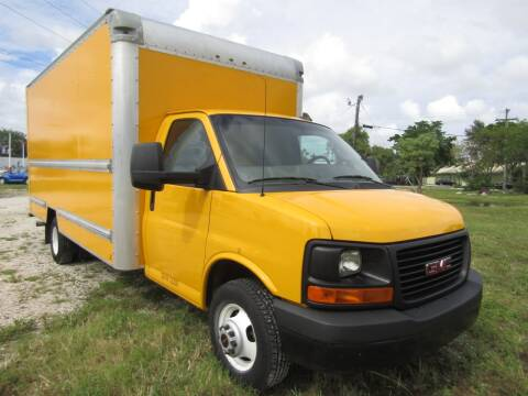 2016 GMC Savana Cutaway for sale at Truck and Van Outlet in Hollywood FL