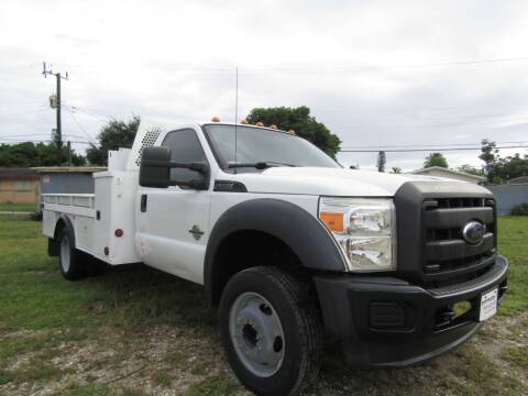 2013 Ford F-550 Super Duty for sale at Truck and Van Outlet in Hollywood FL