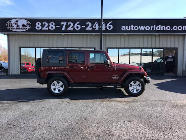 2010 Jeep Wrangler Unlimited For Sale At AutoWorld Of Lenoir In Lenoir NC