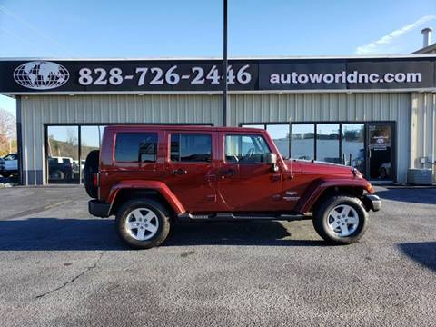 2010 Jeep Wrangler Unlimited for sale in Lenoir, NC